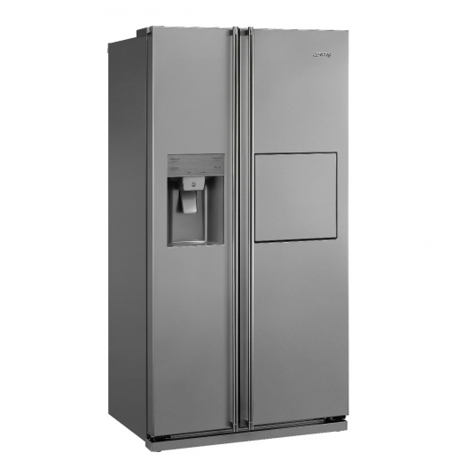 Side-by-side Refrigerator & Freezer with Ice & Water Dispenser