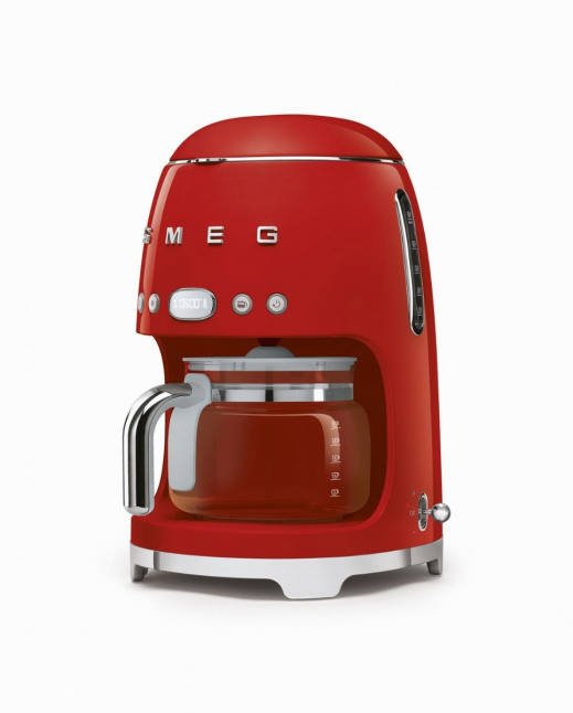 Drip Filter Coffee Machine Red