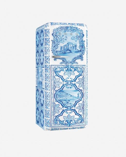 FAB28RDGM3   50s Style Single Door Refrigerator, Inverter, Divina Cucina, Maiolica, 270L