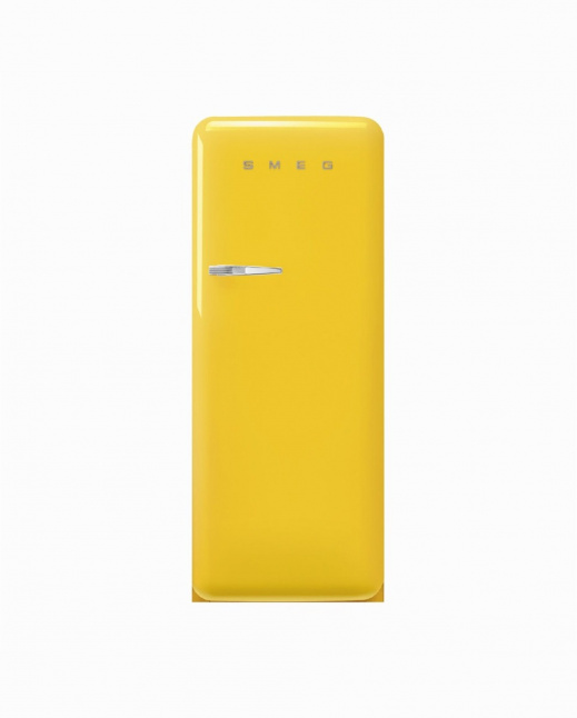 FAB28RYW5   50s Style Single Door Refrigerator, Inverter, Yellow, 270L