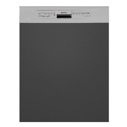 PL2212GTW | 60CM Silver Semi-Integrated Dishwasher