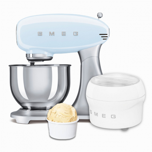 BUNDLE: Stand Mixer Pastel Blue and Ice Cream Maker