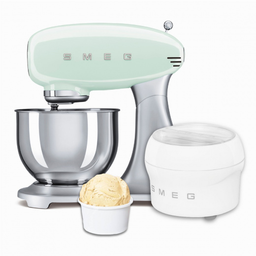 BUNDLE: Stand Mixer Pastel Green and Ice Cream Maker