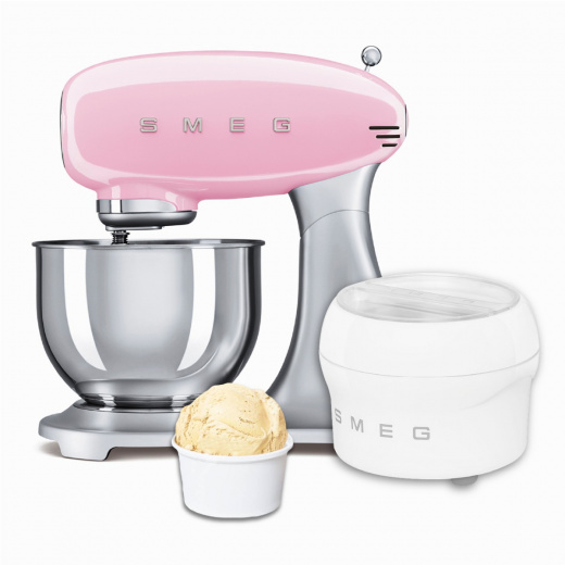 BUNDLE: Stand Mixer Pink and Ice Cream Maker