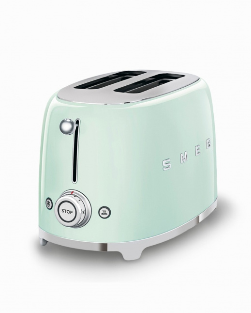 2-Slice Toaster Pastel Green