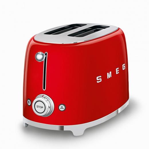 2-Slice Toaster Red