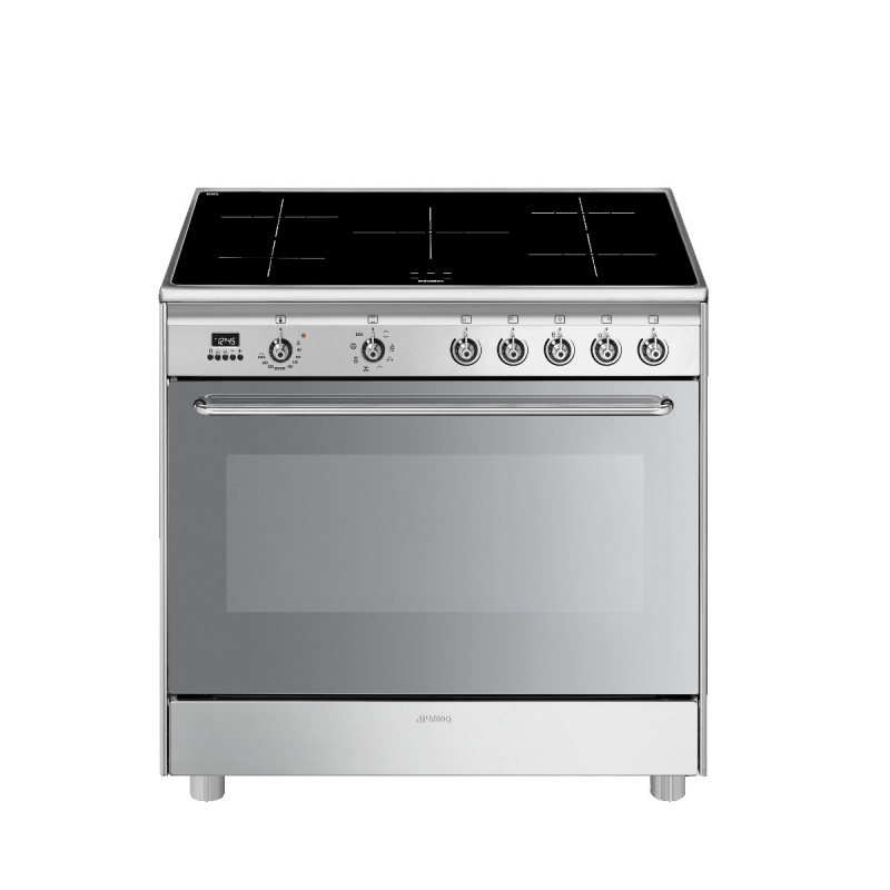 90CM Classic Cooker with Electric Oven & Induction Hob