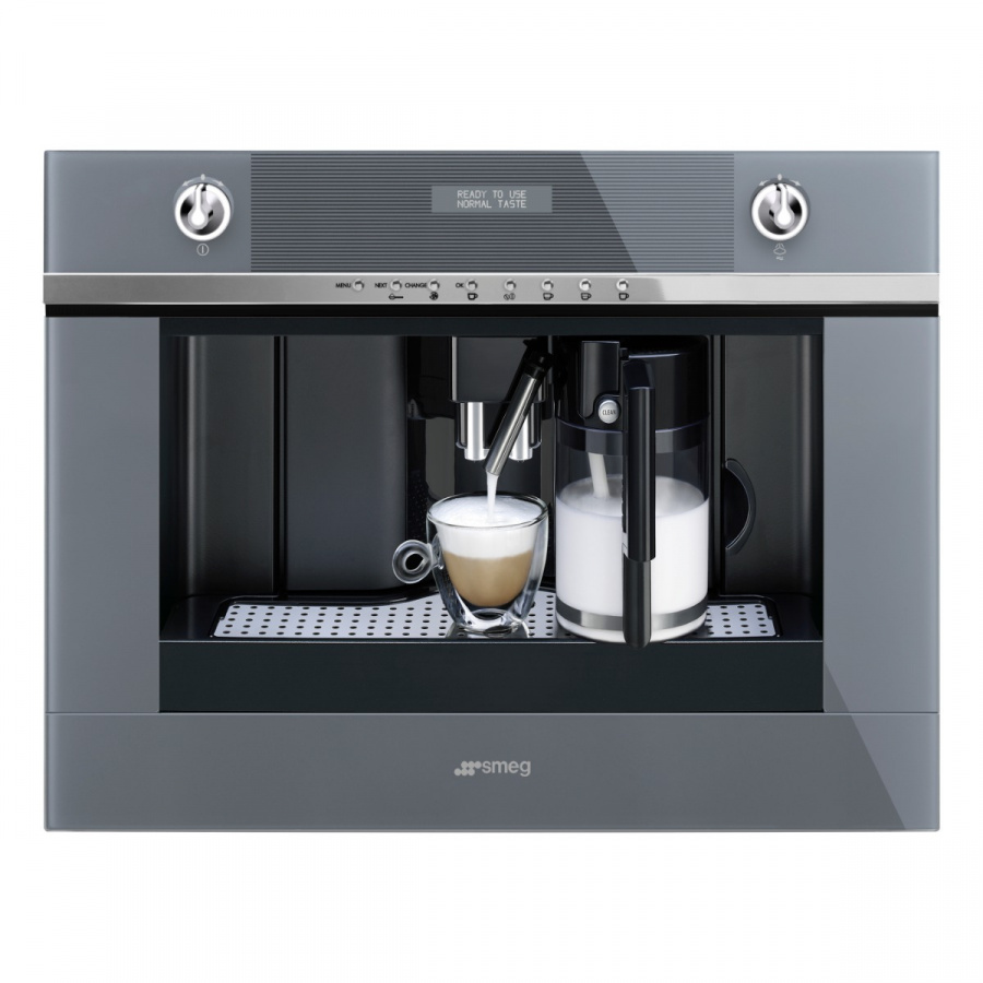 CMS4101S |Built-In Linea Automatic Coffee Machine with Automatic Coffee Bean Grinder, 60cm x 45cm