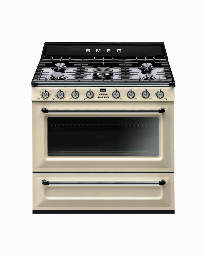 TR90P9 | 90CM Cream Victoria Cooker with Single Oven & Gas Hob