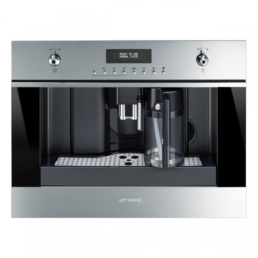 CMS6451X   Built-In Classic Automatic Coffee Machine with Automatic Coffee Bean Grinder, 60cm x 45cm