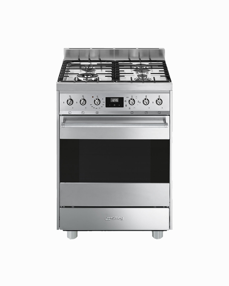 C6GMX9 | 60CM Sinfonia Free Standing Cooker with Thermoventilated Oven & Gas Hob
