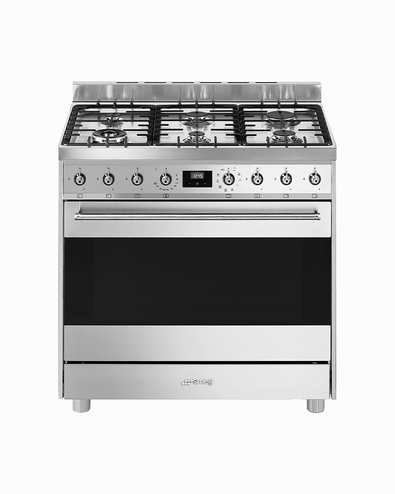 C9GMX9-1 | 90CM Sinfonia Free Standing Cooker with Thermoventilated Oven & Gas Hob