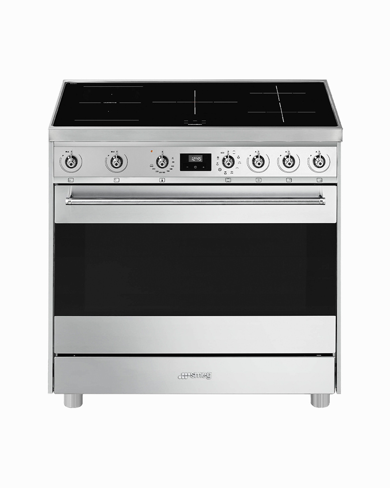 C9IMX9-1 | 90CM Sinfonia Free Standing Cooker with Thermoventilated Oven & Induction Hob