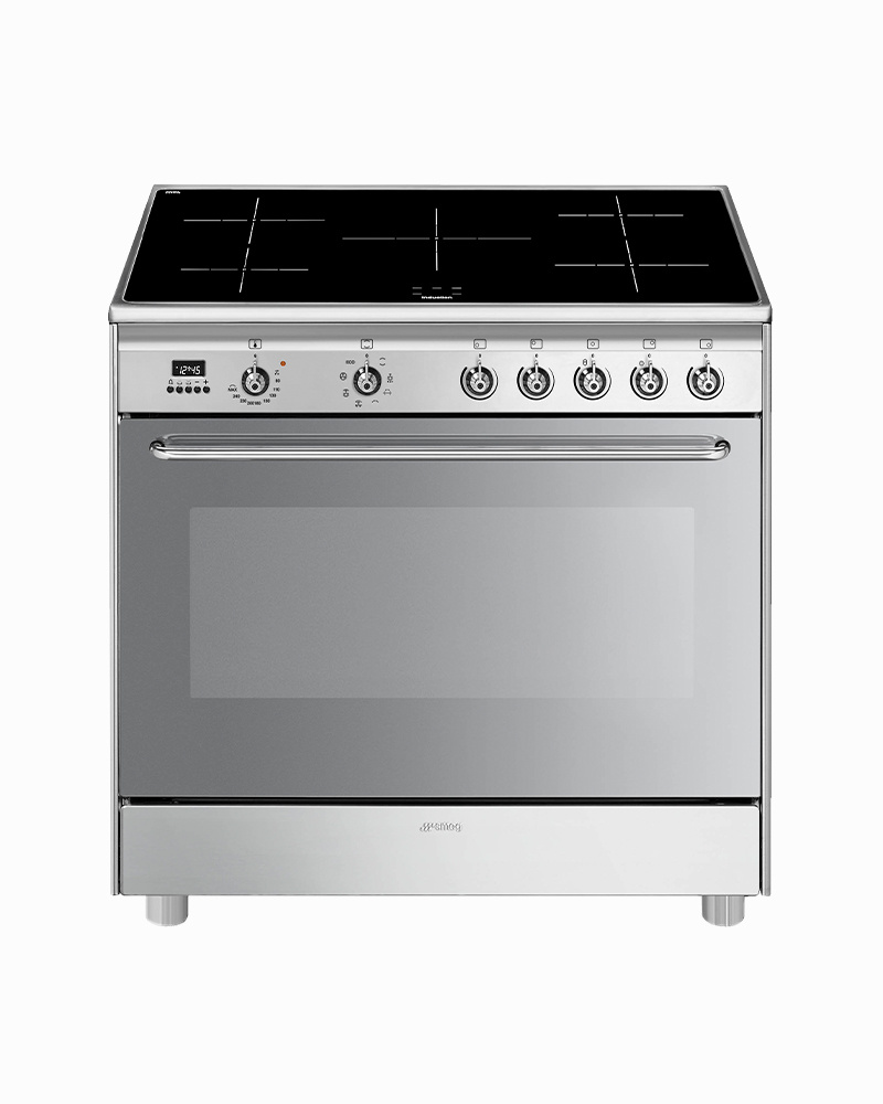 CG90IX9-1 | 90CM Classic Cooker with Electric Oven & Induction Hob