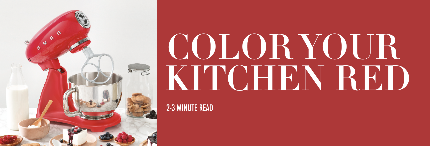 Color Your Kitchen Red