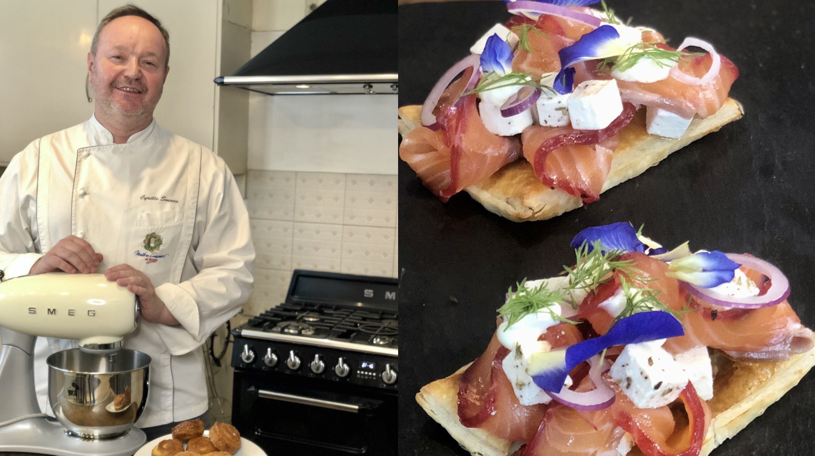 Chef Cyrille Soenen Helps You Cook for Two (or More)