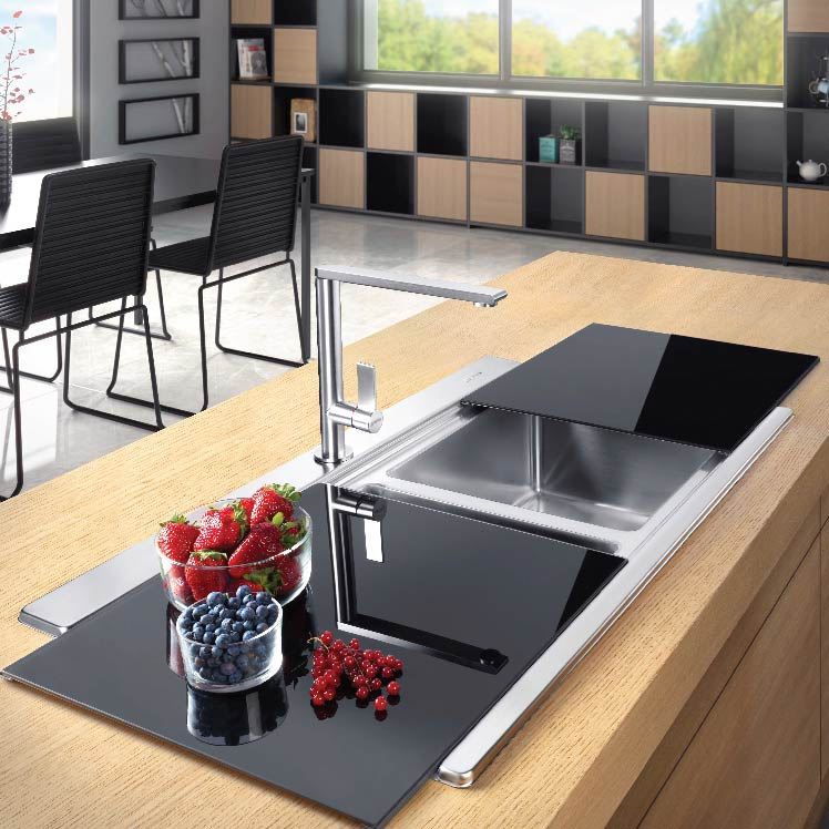 Smeg Sink and Taps